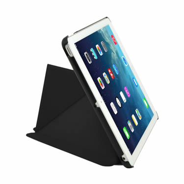 Slim Fit Origami Case With Stand For Ipad Air Black Ipcp5poa2blk