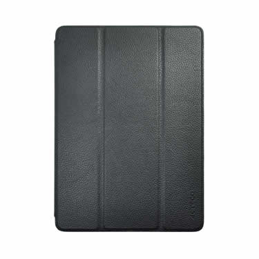 20b0a34e093 Slim-Fit Genuine Leather Case for iPad Air 2 - Black